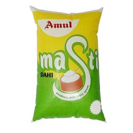 Amul Masti Dahi 1 Kg Pouch Online | Amul Milk, Dahi, Butter, snacks, beverages & chocolates