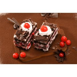Black Forest Supreme Pastry |Pastries Online: Buy sweet pastry cake online from Durgapur | Mio Amore Durgapur