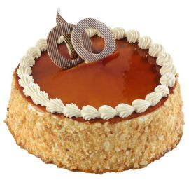 Butterscotch Round : Buy sweet pastry cake online from Durgapur | Mio Amore, Durgapur