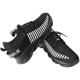 Clymb Zig Zag Black Sports Shoes |  Online Footware in Durgapur | Shoes Online