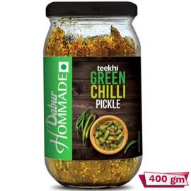 Dabur Green Chilli Homemade Pickle 400g