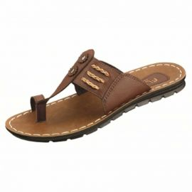 PUG053 Flite Men Brown Sandal  | Sleeper in Durgapur | Men Sandal in Durgapur