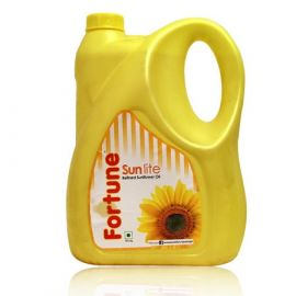 Buy Fortune Sunflower Refined Oil, 5 Liter Can Online in Durgapur