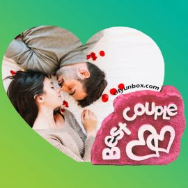 Best Couple Printed Photo Frame | Printed Gifts in Durgapur | Gift Shop in Durgapur