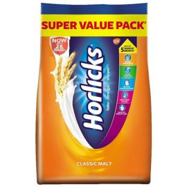Horlicks Health & Nutrition Drink - 1 kg Pouch (Classic Malt)