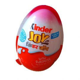 Kinder Joy Chocolate - with Surprise, 20g Pack