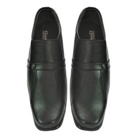 Classic Men's Formal Synthetic Black Shoes