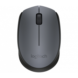 Logitech M171 Wireless Mouse Grey/Black