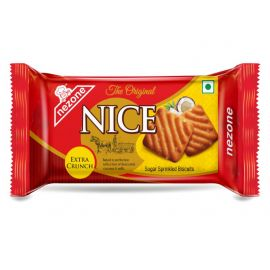 Nezone Nice - Sugar Sprinkled Biscuits - Extra Crunch 90 gm