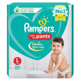 Pampers Diaper Pants, Large