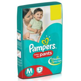 Pampers Diaper Pants, Medium
