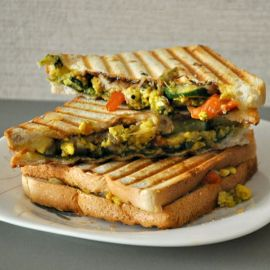 Paneer Veg Cheese Sandwich