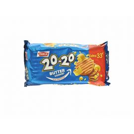 Parle 20 20 Butter Cookies 200g ( 150g +50g Extra)