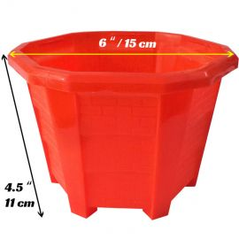 Square Plastic Pots / Planter Pots for Garden and Balcony
