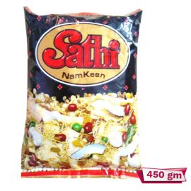 Sathi Chanachur Spicy Chanachur - 450 gm