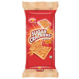 Sun Top Sugar Crackers Biscuits - 175 gm