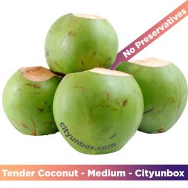 Buy Fresh Tender Coconut - Medium | नारियल पानी  | ডাব