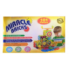 Miracle Bricks Building Block Game for Kids - 101 Blocks