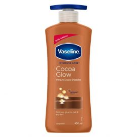 Vaseline Intensive Care Cocoa Glow Body Lotion - 400 ml