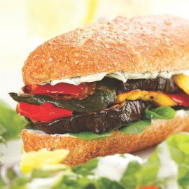 Vegetable Sandwich Plain