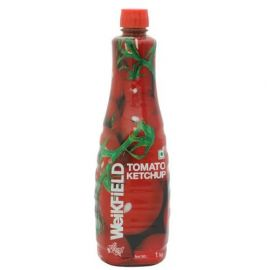 Weikfield Ketchup - Tomato, 1kg Bottle