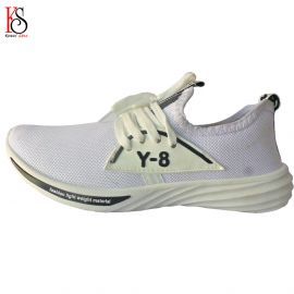 Buy FOOT GYM Men' S Mesh White Running Sports Walking Casual Sneakers Shoes Online in Durgapur