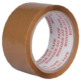 Wonder Brown tape (2 inch, 65 m) - Pack of 2 Pieces